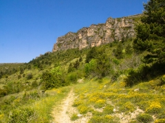 Meyrueis, wandeling Pauparelle