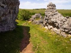 Sentier de Nimes le Vieux