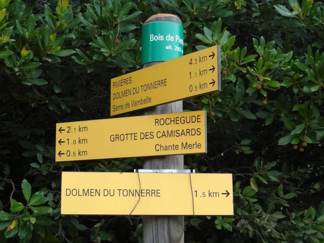 Rochegude wandeling