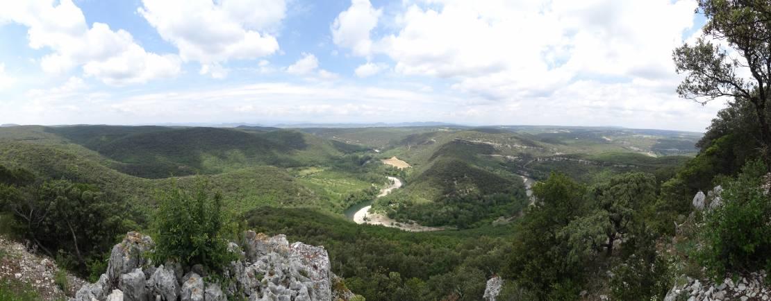 uitzicht La Dent du Serret