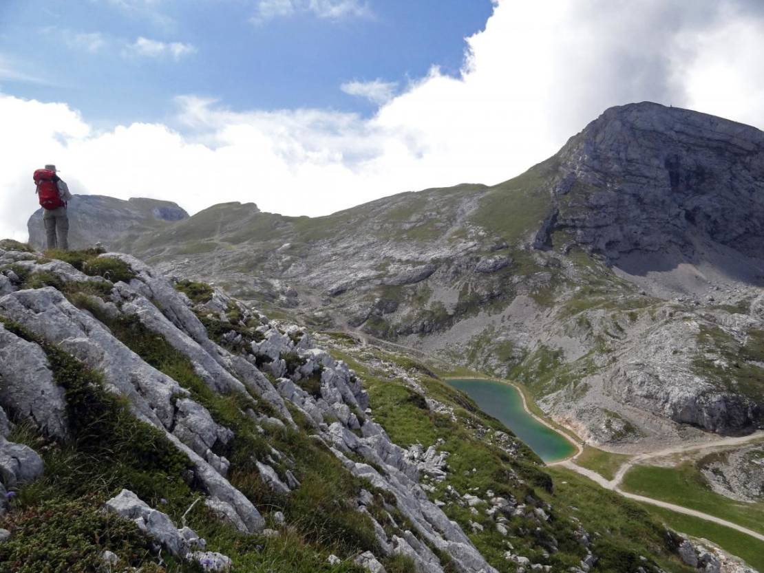 uitzicht op Lac de Moucherolle